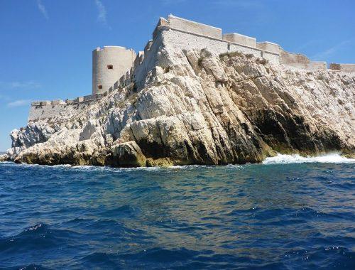 tourisme marseille : le chateau d'If